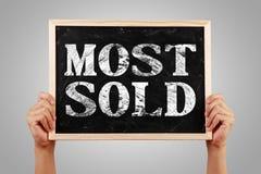 Najwięcej Sprzedawali obraz stock