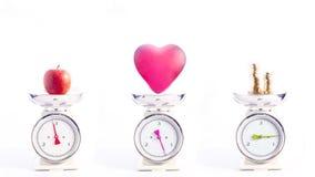 Najwięcej ważnych rzeczy w życiu: zdrowie, miłość i pieniądze, Zdjęcia Stock