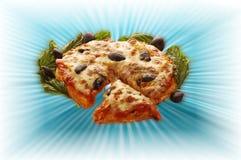 Najwyższa pizza zdjęcia royalty free