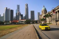 najwyższy dworski stary Singapore Zdjęcia Stock