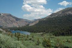 najwyższa góra lake zdjęcie royalty free