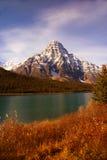 najwyższe góry skaliste zimowych Fotografia Stock