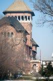 Nakładający muzealny budynek Zdjęcia Stock