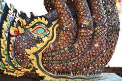 NAK di Phraya della coda del sorso del NAK di Phraya Fotografia Stock Libera da Diritti