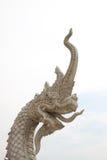 naka雕象的国王 免版税库存图片