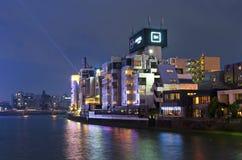 Naka River side in Fukuoka City Royalty Free Stock Photos