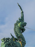 Naka Skulptur, songkhla Stockbild