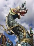 Naga. Snake dragon thai demon monster Stock Photo