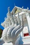 Naka statue stair at Wat Nakprok Stock Photography