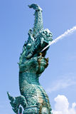 Naka statue of Thailand Stock Photos