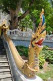 Naka tailandês da arte da escadaria Fotos de Stock Royalty Free
