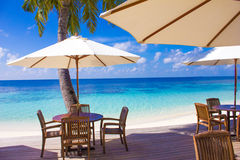 Nakachchafushi Huvafen Fushi atoll island - The Maldives stock photo