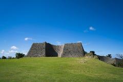 Nakagusuku kasztelu ruiny Fotografia Royalty Free