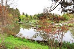 Nakajima Park  at  Sapporo, hokkaido Japan Stock Photos