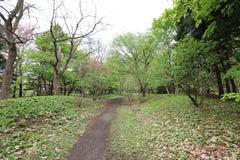 The Nakajima Park  at  Sapporo, hokkaido Japan Stock Image