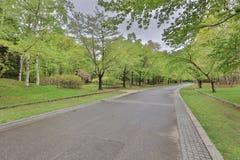 The Nakajima Park  at  Sapporo, hokkaido Japan Royalty Free Stock Photography
