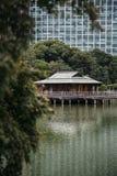 Nakajima Tea House in Tokyo, Japan. Nakajima Tea House on the lake in Tokyo, Japan Stock Image