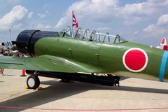 Nakajima-Torpedo-Bomber-Replik Stockfotos