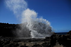 Nakalele Blow hole Stock Images