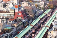Nakamise-Dori Stock Foto's