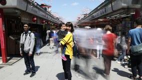 Nakamise-dori Asakusa Tokyo clips vidéos