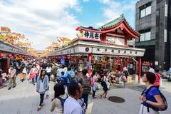 Nakamise Shopping Street Asakusa Royalty Free Stock Images