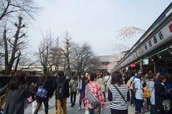 Nakamise shopping street Stock Photos