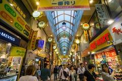 Nakano百老汇商业区在东京 免版税库存图片