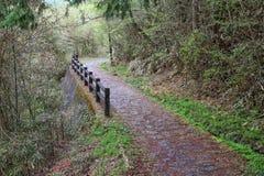 Nakasendo road, Japan Royalty Free Stock Images