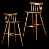 Nakashima high stools Royalty Free Stock Photography