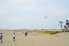 Nakatajima Sand Dunes in Shizuoka Royalty Free Stock Images