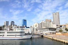 Nakatottei jetty in Kobe, Hyogo. Japan Royalty Free Stock Image