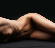 Naked body of a young and beautiful woman Stock Photo