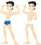 Naked boy Stock Photography