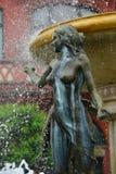 Naked bronze figure Stock Image