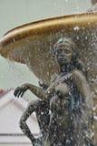 Naked bronze figure Stock Photos