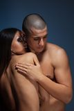 Naked couple Stock Image
