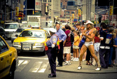 Naked Cowboy, Dollar Business 8_13 Royalty Free Stock Photos