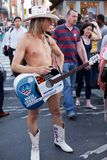 Naked Cowboy Stock Photos