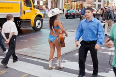 Naked Cowboy Stock Images