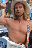 Naked Cowboy Royalty Free Stock Images