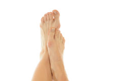 Naked feet Royalty Free Stock Images
