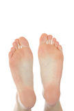Naked feet Stock Image