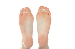 Naked feet Royalty Free Stock Photography