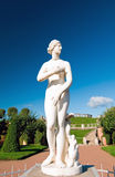 Naked female statue Royalty Free Stock Photo