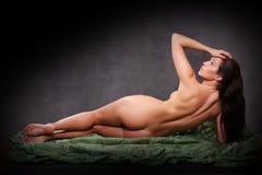 Naked girl Stock Photo