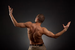 Naked man Royalty Free Stock Image