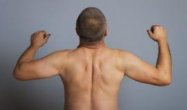 Naked man. Royalty Free Stock Image