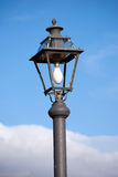 Naked street lamp classic Stock Image