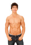 Naked torso. Royalty Free Stock Photo